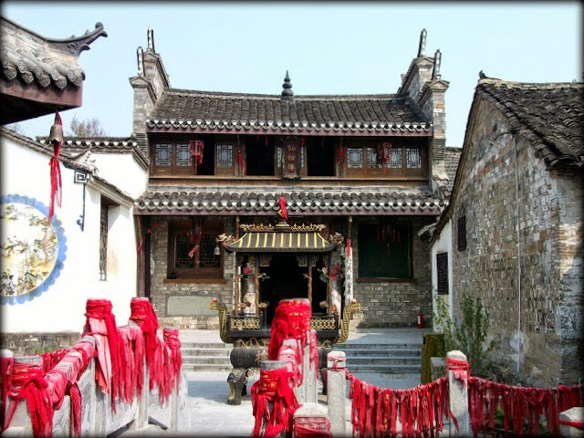 Templo de Sanhe Anhui China